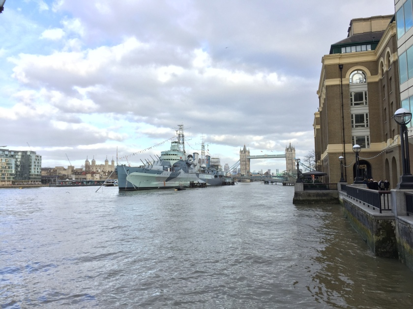 HMS Belfast & Tower Bridge