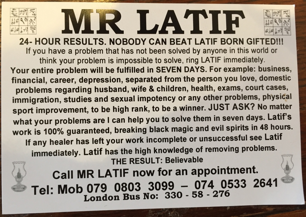 Scam – Mr Latif, Born Gifted