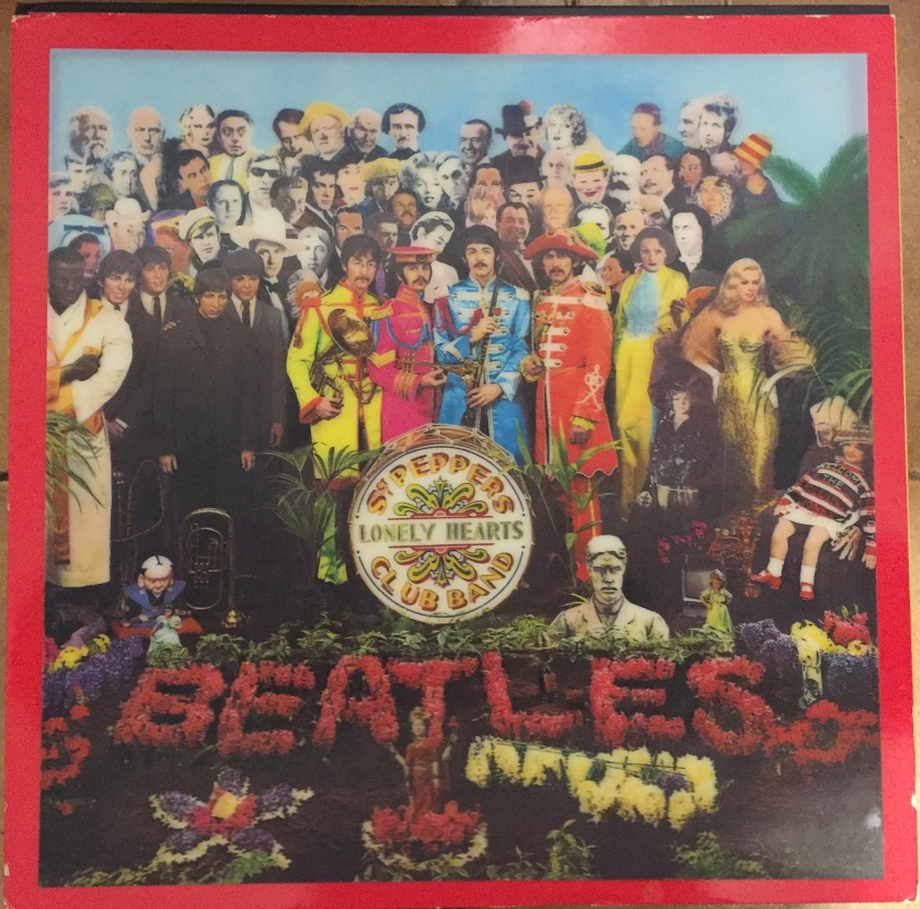 CD box set for Sergeant Pepper's Lonely Hearts Club Band by The Beatles