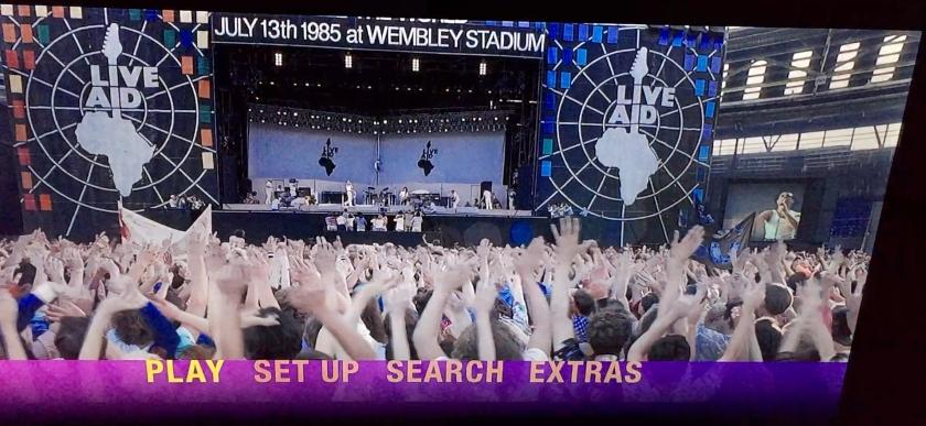 Bohemian Rhapsody Live Aid