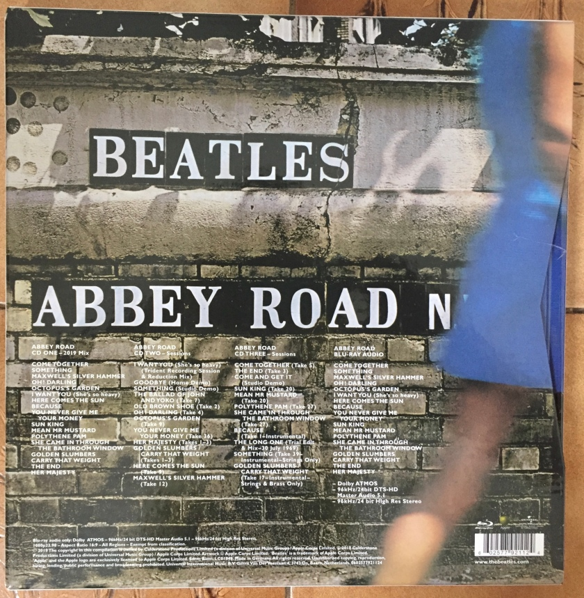 The Beatles - Abbey Road 50th Anniversary Box Set - The Beatles - Abbey Road 50th Anniversary Box Set - Rear Cover