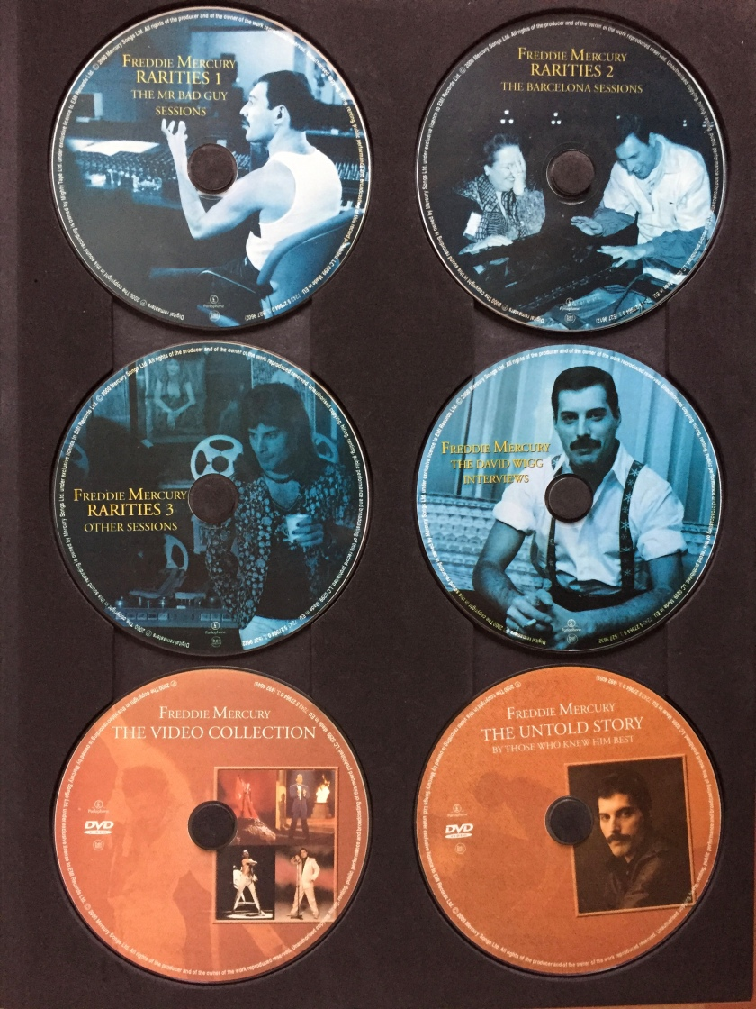 Freddie Mercury - Solo Collection - Discs